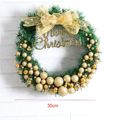 Christmas Decorations For Home Green Garland Door And Window Luxury Party Props
