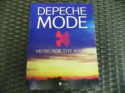 DEPECHE MODE - Music For The Masses - 1987 - Trade Ad / Advert - NOT CD - NOT LP