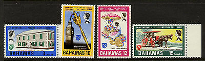 Bahamas 280-3 MNH - Architecture, Surrey, Horse, Crafts, Royal Mace