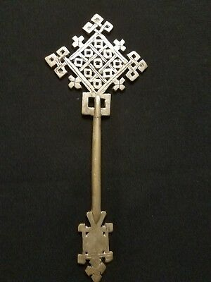 Ethiopian Coptic Orthodox Blessing Hand Axum Cross  Handcrafted special