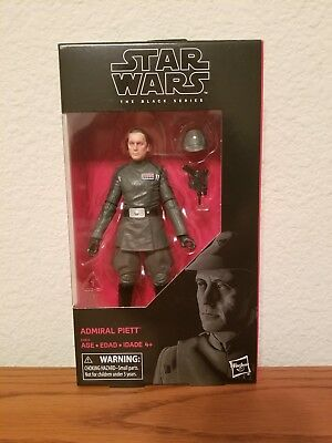 Star Wars The Black Series Admiral Piett 6-Inch Exclusive Action Figure In Stock
