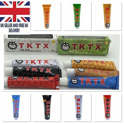 New TKTX Stronger Numbing Tattoo Body Anaesthetic Fast Skin Numb Cream UK