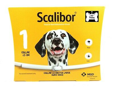 Scalibor Dog Flea and Tick Collar 65 cm for Large sized dogs EXP.02/2020