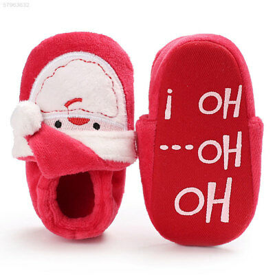 EA1A First Walkers Prewalkers Fashion Soft Sole Santa Claus Festival Toddler