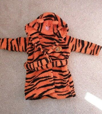 ❤Disney Tigger Dressing Gown 3-6months boy or girls❤