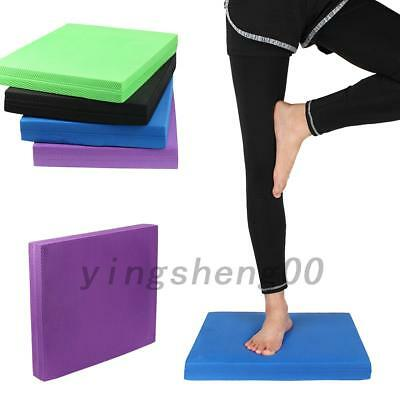 Hot Yoga Balance Mats Pad Mobility Stability Training Physiotherapy Mat 15.7''