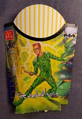 Batman Forever 1995 Mcdonald's Collectable