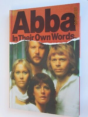 Abba - In Their Own Words - Rare Original Issue Hardback Book