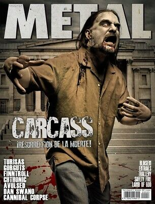 This is Metal Magazine Spain Issue 03, Carcass Turisas Finntroll Cannibal Corpse