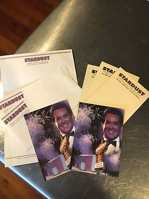 Stardust casino collectibles - Stationary Pads Postcards