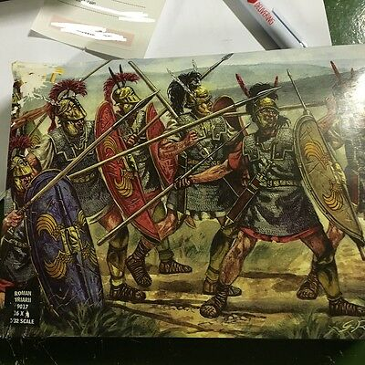 1/32 54mm Ancient Roman Triarii Infantry Soldiers 9017