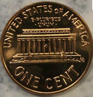 ***PROOF*** 1964 Lincoln Memorial Cent Penny