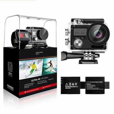 Action Camera, ACT76 4K Sport Cam 16MP WiFi Waterproof Camera 170° Ultra Wide H