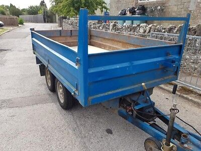 Ifor Williams twin axle tipping trailer