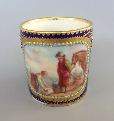 Sevres Jewelled Coffee Can dated 1779
