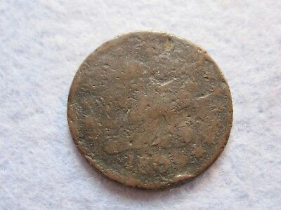 1809 Classic Head Half Cent Damaged (1/2 C)