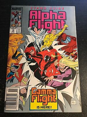 Alpha Flight#76 Incredible Condition 9.4(1989) Gamma Flight App!!