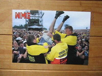The Prodigy (Keith Flint) NME Postcards From The Hedge - Knebworth 1996