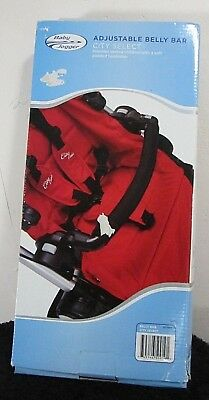 Baby Jogger Adjustable Belly Bar, City Select Black BJ50919 New
