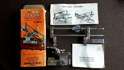 NOS, Granberg File N Joint Bar Mount Chain Saw Sharpener G-106A. With Box