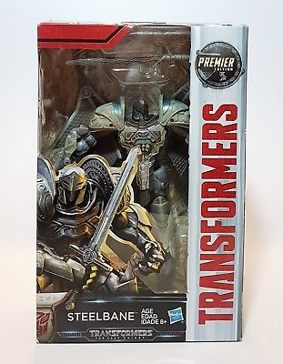 New Hasbro Transformers: The Last Knight Premier Edition Steelbane
