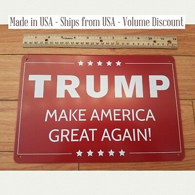 Donald TRUMP Sign MAGA Sign Gifts MAGA Sign Trump Campaign Sign Trump Yard Sign