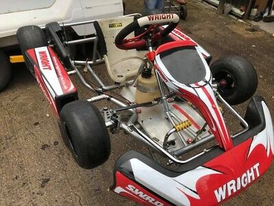 2016 Bambino Wright Kart Rolling Chassis T Series Iamie