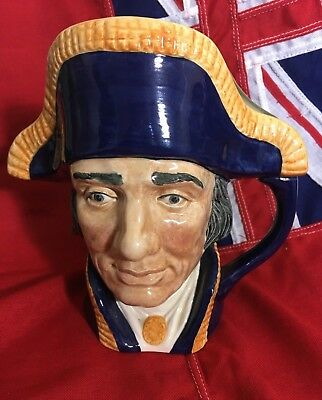Royal Doulton Lord Nelson Character Jug D6336 - Large