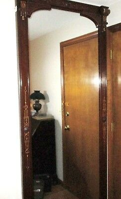 """Beautiful Antique Pier Mirror 90.5"""" x 36.5""""  LOCAL PICKUP ONLY-Plainville, CT"""