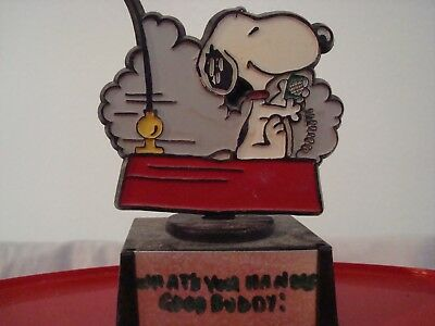 Peanuts Snoopy Whats Your Name Good Buddy Figurine 408
