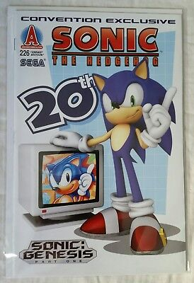 Archie Sonic The Hedgehog #226 Convention Exclusive Variant NM
