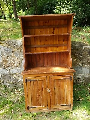 Antique very old Pine Small Dresser