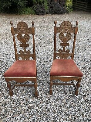Pair Of Antique Throne Chairs