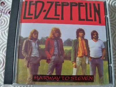 "Led Zeppelin ""Hairway To Steven"" Cd Rare Demos Outtakes Olympic Studios 1968/72"