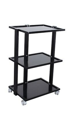 Tattoo Artist Trolley. Black Trolley For Salons, Spas And Tattooists.