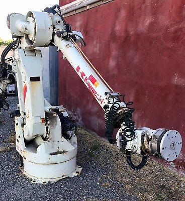 Kawasaki UX070F Robot Arm 6 Axis Welding/Pick Bot with Clutch Head L@@K!!!
