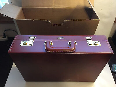Vintage Tommy Traveler Briefcase w box, new, open box.
