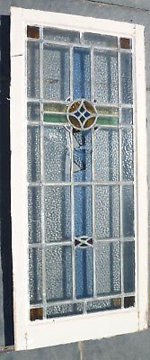 Antique Stained Glass Window - Damaged Glass