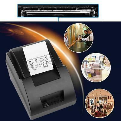 USB Mini 58mm POS Thermal Dot Receipt Bill Printer Set Roll Paper POS-5890C GA