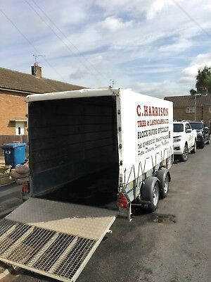 used ifor williams trailers used