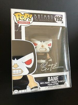 Funko POP! Batman The Animated Series Bane Signed Bruce Timm BTAS