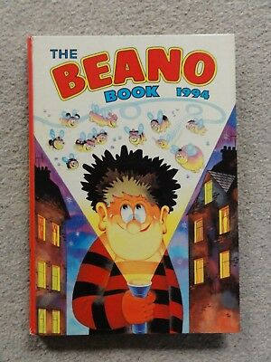 The Beano Book 1994 Vintage comic annual Dennis the Menace cover