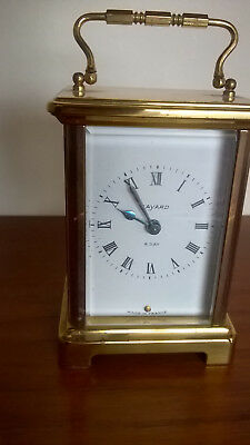 French Duverdrey & Bloquel Bayard 8 Day Carriage/Mantel/Desk Clock working order