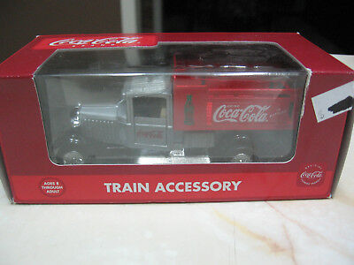 K Line Coca Cola Vintage Delivery Truck Train Accessory Silver/red #k-94527 Nib