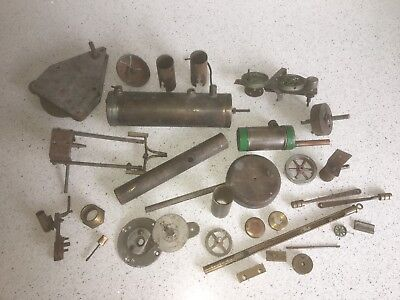 Job Lot of Live Steam parts and accessories including boilers. 30 Pieces.