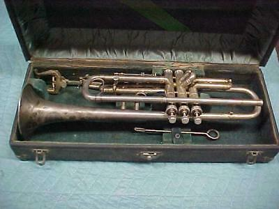 Antique Harry B Joy Trumpet, Chicago in Very Good Used Condition.
