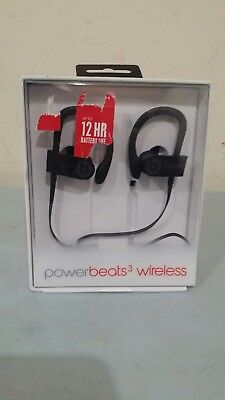 73877e86e95 NEW BEATS BY Dr. Dre Powerbeats 3 Wireless Black, Open box *NO BOX ...