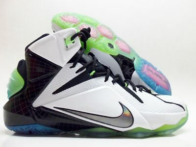 the best attitude f424b d4bfd NIKE JAMES LEBRON XII AS ALL STAR WHITE MULTI-COLOR-BLACK MEN S 742549