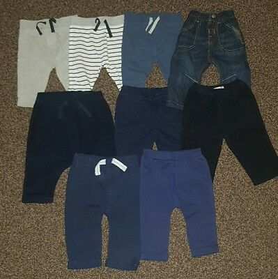 Baby Boys trousers bundle in Sizes 0-3 months & 3-6 months