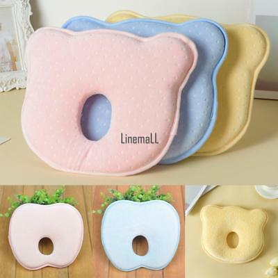 Soft Baby Cot Pillow Prevent Flat Head Memory Foam Cushion Sleeping LM 01